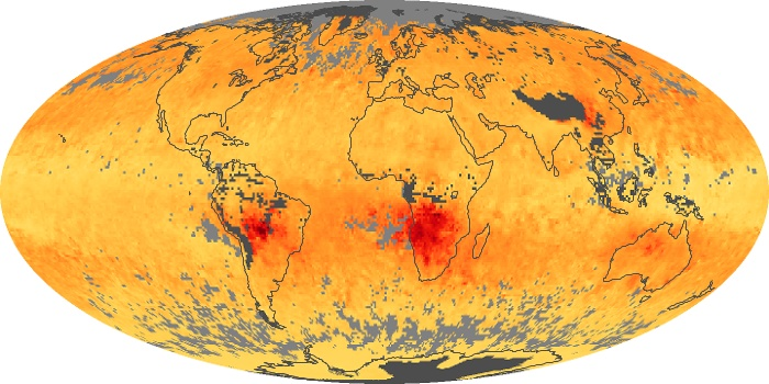 Global Map Carbon Monoxide Image 8