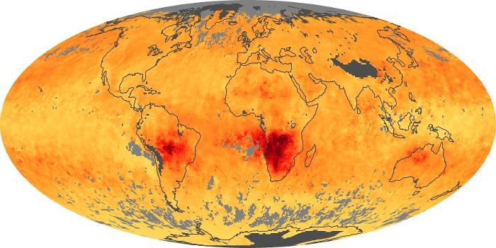 Global Map Carbon Monoxide Image 8