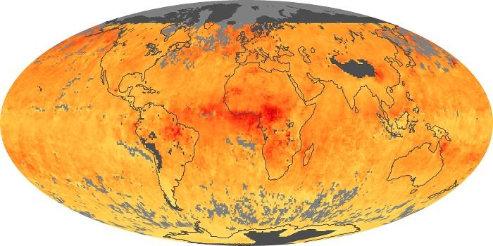 Global Map Carbon Monoxide Image 9