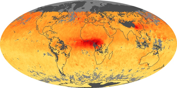 Global Map Carbon Monoxide Image 10
