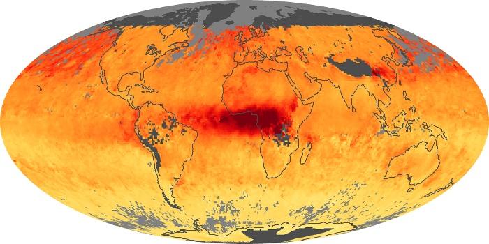 Global Map Carbon Monoxide Image 11