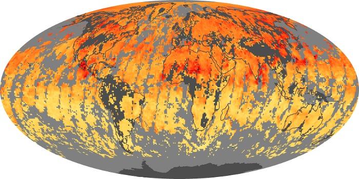 Global Map Carbon Monoxide Image 15
