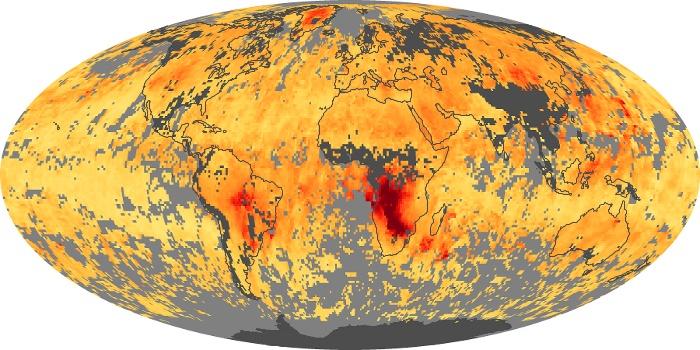 Global Map Carbon Monoxide Image 18