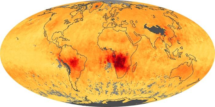 Global Map Carbon Monoxide Image 19