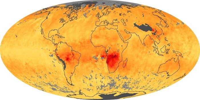 Global Map Carbon Monoxide Image 20