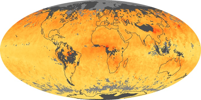 Global Map Carbon Monoxide Image 21