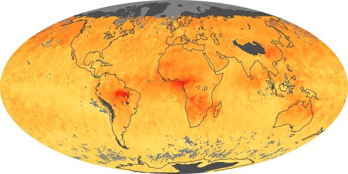 Global Map Carbon Monoxide Image 21