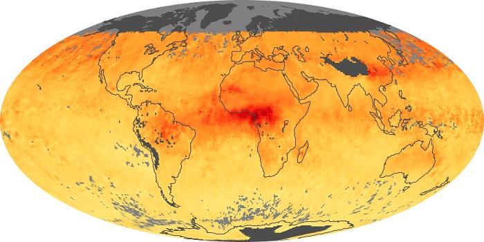 Global Map Carbon Monoxide Image 22