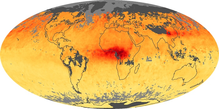Global Map Carbon Monoxide Image 23