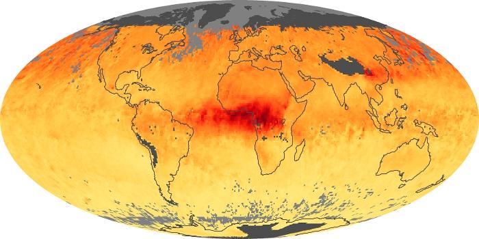 Global Map Carbon Monoxide Image 23