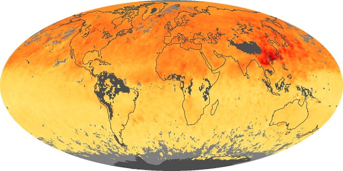 Global Map Carbon Monoxide Image 26