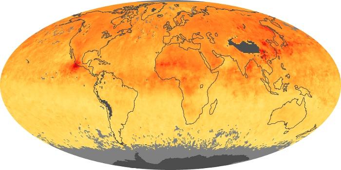 Global Map Carbon Monoxide Image 27