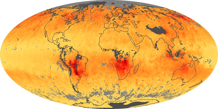 Global Map Carbon Monoxide Image 32