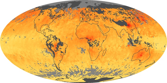 Global Map Carbon Monoxide Image 5