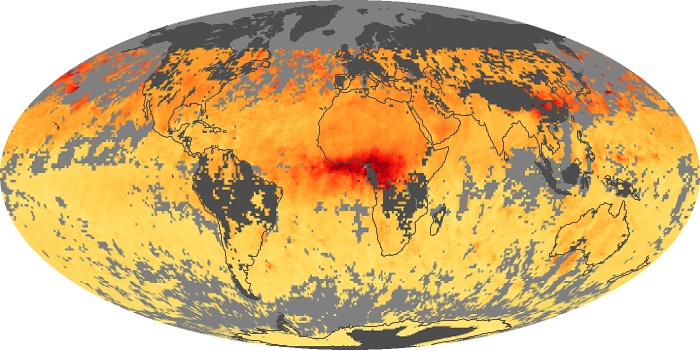 Global Map Carbon Monoxide Image 34