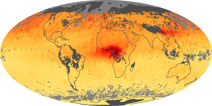 Global Map Carbon Monoxide Image 35
