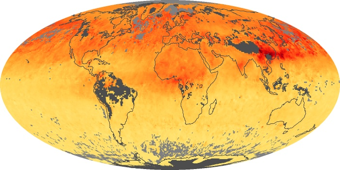 Global Map Carbon Monoxide Image 37