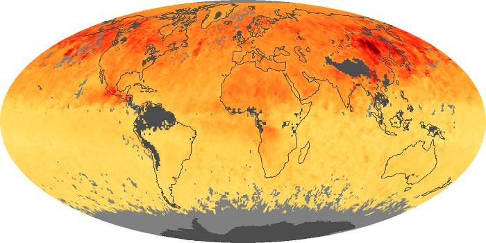 Global Map Carbon Monoxide Image 39