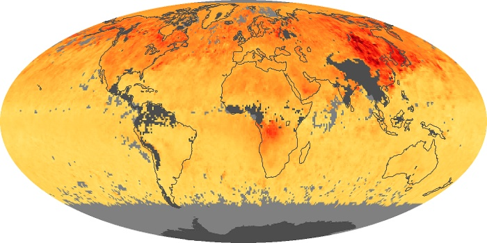 Global Map Carbon Monoxide Image 12