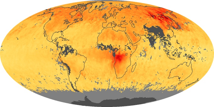 Global Map Carbon Monoxide Image 13