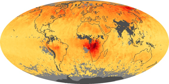 Global Map Carbon Monoxide Image 42