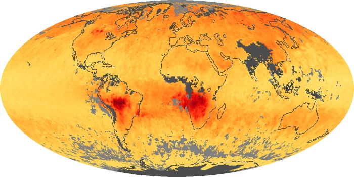 Global Map Carbon Monoxide Image 15