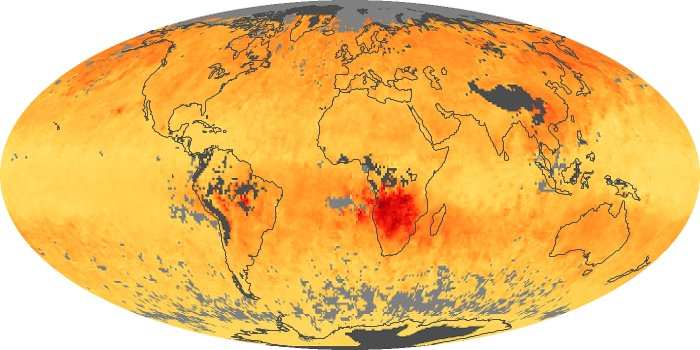 Global Map Carbon Monoxide Image 16