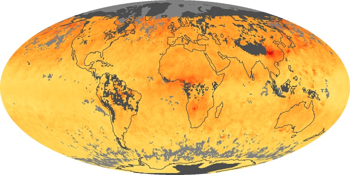 Global Map Carbon Monoxide Image 17