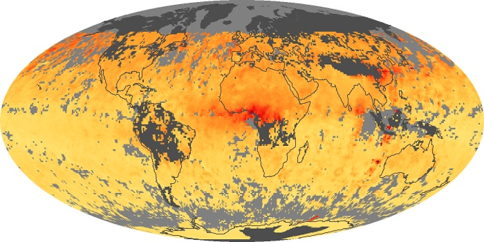 Global Map Carbon Monoxide Image 46