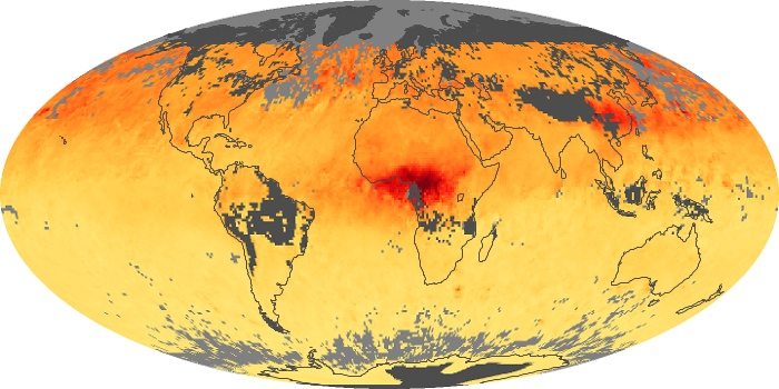 Global Map Carbon Monoxide Image 47
