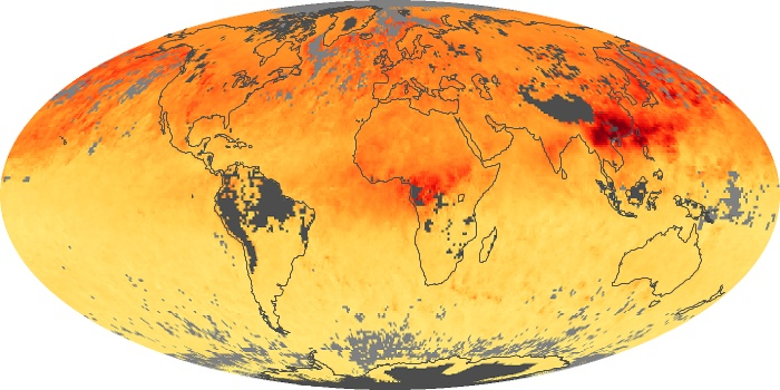 Global Map Carbon Monoxide Image 49