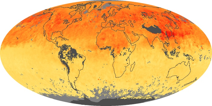Global Map Carbon Monoxide Image 22