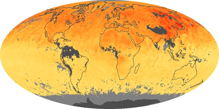 Global Map Carbon Monoxide Image 51