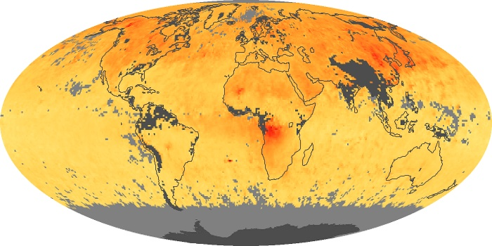 Global Map Carbon Monoxide Image 52