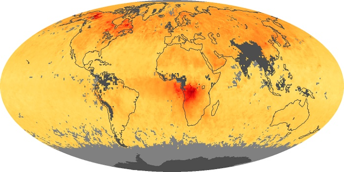 Global Map Carbon Monoxide Image 53