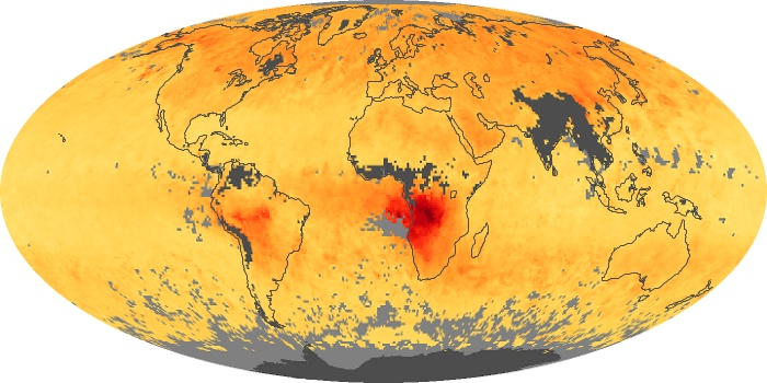 Global Map Carbon Monoxide Image 54