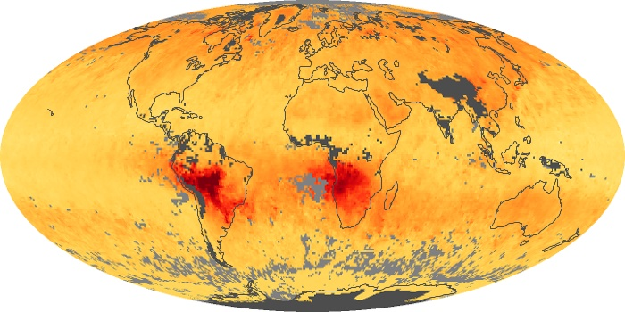 Global Map Carbon Monoxide Image 55