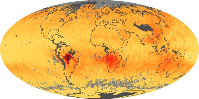 Global Map Carbon Monoxide Image 28