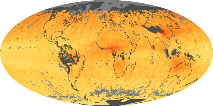 Global Map Carbon Monoxide Image 29