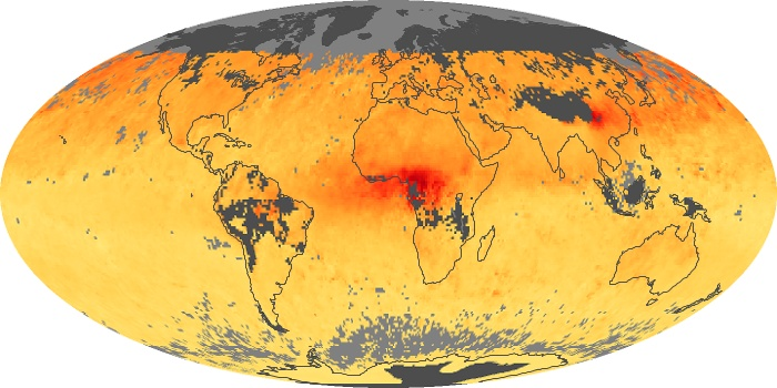 Global Map Carbon Monoxide Image 58