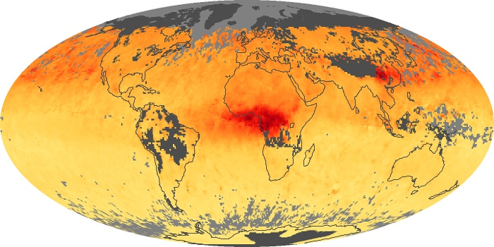Global Map Carbon Monoxide Image 59