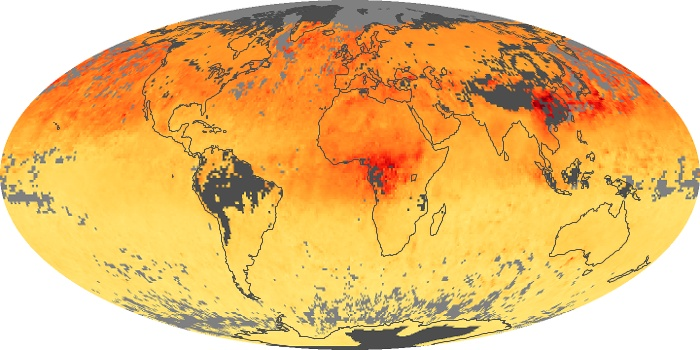 Global Map Carbon Monoxide Image 60