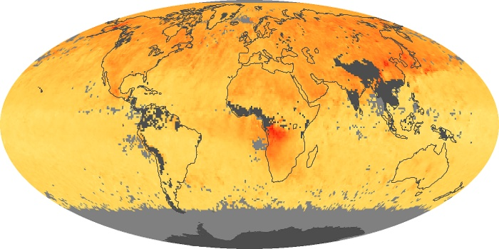 Global Map Carbon Monoxide Image 64
