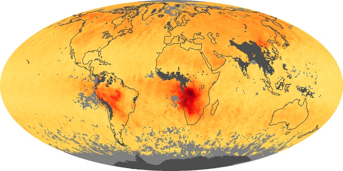 Global Map Carbon Monoxide Image 38