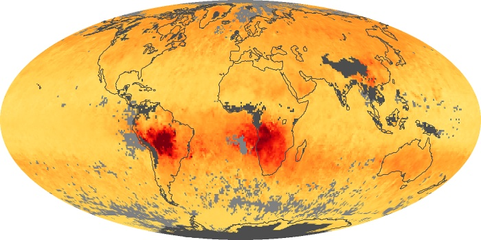 Global Map Carbon Monoxide Image 67