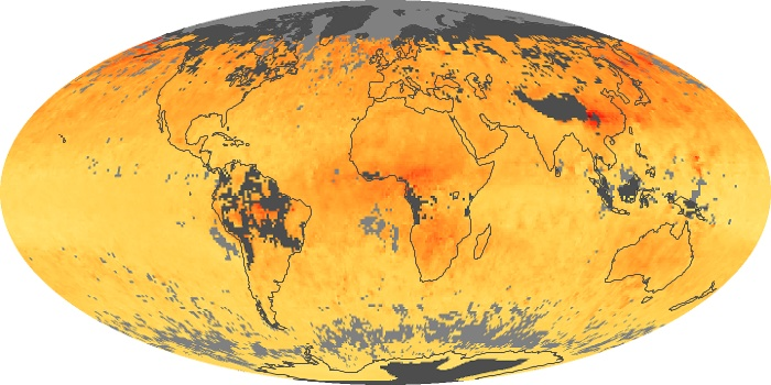 Global Map Carbon Monoxide Image 69