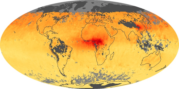 Global Map Carbon Monoxide Image 70