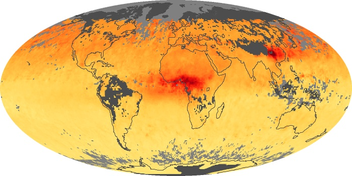 Global Map Carbon Monoxide Image 43