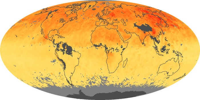 Global Map Carbon Monoxide Image 75