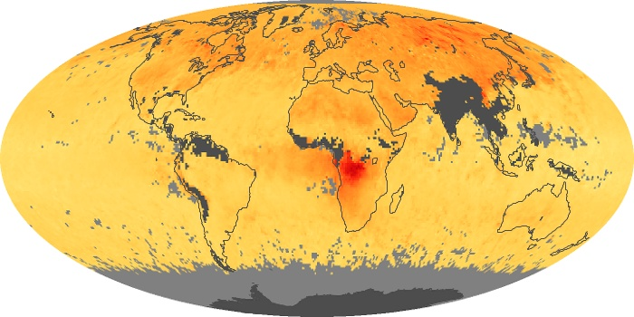 Global Map Carbon Monoxide Image 77